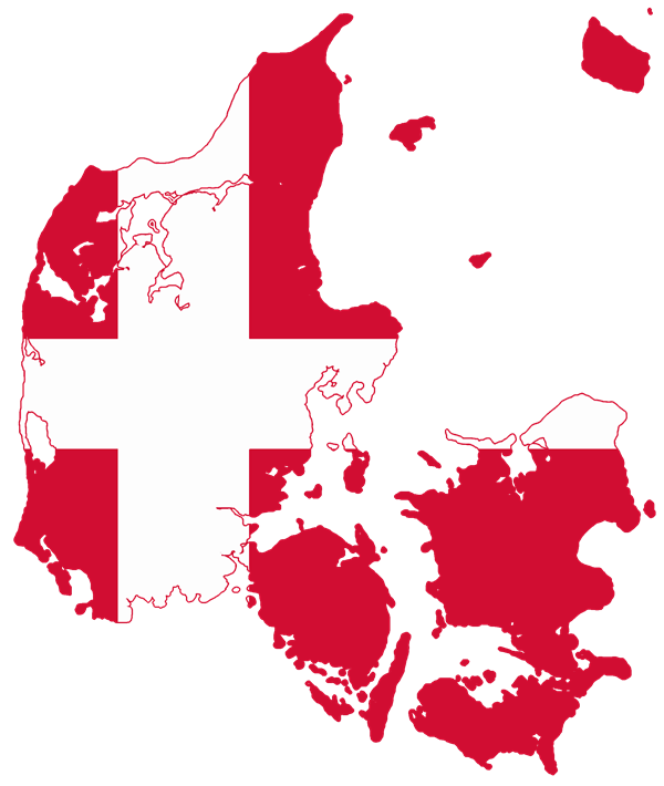 Denmark map Copy